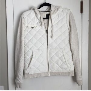 HURLEY White Vest Jacket